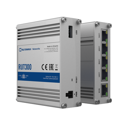 RUT300 – New Industrial Ethernet Router by Teltonika Networks